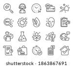 technology icons set. included...