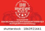 motorcycle club community logo... | Shutterstock .eps vector #1863921661