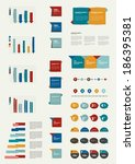 infographic set elements. | Shutterstock .eps vector #186395381