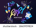 colorful vector banner for the... | Shutterstock .eps vector #1863959824