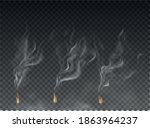 fog and smoke set isolated on... | Shutterstock .eps vector #1863964237