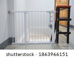 Baby Gate Safety Door  White...