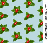 xmas banner with christmas... | Shutterstock .eps vector #1864079794