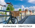 Bruges  Brugge  Cityscape With...