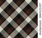 seamless pattern of scottish... | Shutterstock .eps vector #1864121107