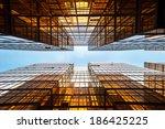 Symmetrical Mirrored Office...