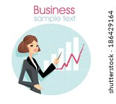 business vector | Shutterstock .eps vector #186429164