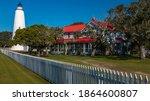 ocracoke  north carolina   18... | Shutterstock . vector #1864600807
