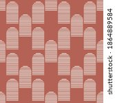 vector abstract seamless... | Shutterstock .eps vector #1864889584