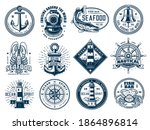 Nautical Anchor  Ship Helm ...