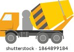 modern construction equipment.... | Shutterstock .eps vector #1864899184