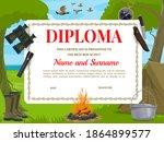Boy Scout Diploma Vector...