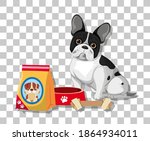 french bulldog in sitting... | Shutterstock .eps vector #1864934011