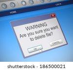 illustration depicting a... | Shutterstock . vector #186500021
