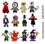 cartoon vector characters | Shutterstock .eps vector #18651829