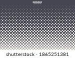 rhombus halftone vector...   Shutterstock .eps vector #1865251381