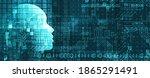 abstract artificial...   Shutterstock .eps vector #1865291491