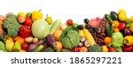 assortment of fresh organic... | Shutterstock . vector #1865297221
