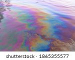 Oil Petrol Water Pollution....