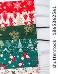 christmas handmade colorful... | Shutterstock . vector #1865362561
