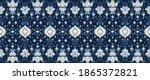 ikat geometric folklore...   Shutterstock .eps vector #1865372821