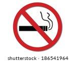 no smoking sign   Shutterstock .eps vector #186541964