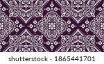 seamless pattern based on... | Shutterstock .eps vector #1865441701