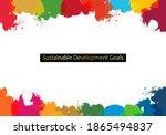 for sustainable development... | Shutterstock .eps vector #1865494837