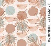 abstract textured circles  semi ...   Shutterstock .eps vector #1865622424