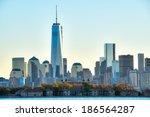 Manhattan Skyline With One...
