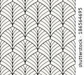 seamless pattern. classical... | Shutterstock .eps vector #186564695