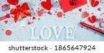 Banner. Valentine's Day...