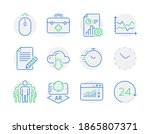 science icons set. included...