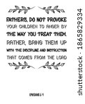 Fathers  Do Not Provoke Your...