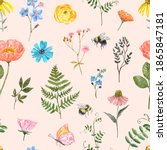 Watercolor Wild Flowers...