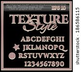 texture graphic style for... | Shutterstock .eps vector #186586115