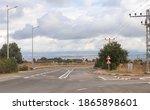 Golan Heights Road Near Rosh...