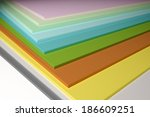 an image of some colorful plain ... | Shutterstock . vector #186609251