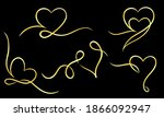 a collection of decorative... | Shutterstock .eps vector #1866092947