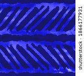 azure blue tie dye texture... | Shutterstock . vector #1866177931