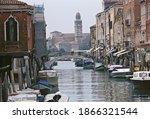View Of Murano Island Cityscape ...