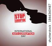 international anti corruption...   Shutterstock .eps vector #1866360487