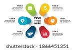 3d vector perspective... | Shutterstock .eps vector #1866451351