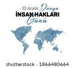 december 10  world human...   Shutterstock .eps vector #1866480664