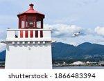 Brockton Point Lighthouse With...