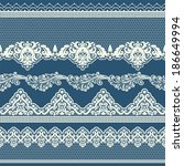 Set Of Vintage Lace Borders....