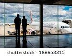 melbourne  victoria australia ... | Shutterstock . vector #186653315