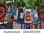 crete  august 13  traditional... | Shutterstock . vector #1866551554