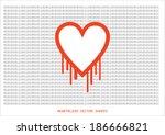 heartbleed openssl bug vector...