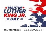 martin luther king  jr. day.... | Shutterstock .eps vector #1866693334